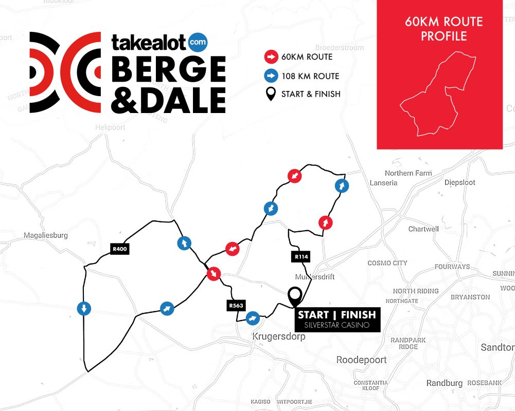 Berge & Dale 2019_Route