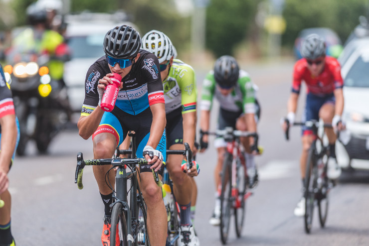 Marc Pritzen and his team, OfficeGuru Racing, will be chasing further success when the Takealot Berge & Dale road cycle race over 108km takes place in Krugersdorp on the West Rand on Saturday. Photo: Henk Neuhoff